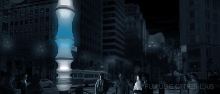 Data Lanterns, by Future Cities Lab