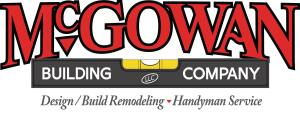 """Two of remodeler Matt McGowanís top logo picks. He chose this logo because he felt it was """"fuller looking and more recognizable with its larger massing."""""""