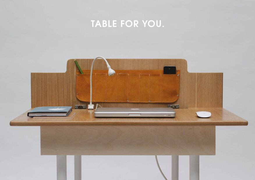 Multipurpose Table a multi-purpose table designed for small spaces| ecobuilding pulse
