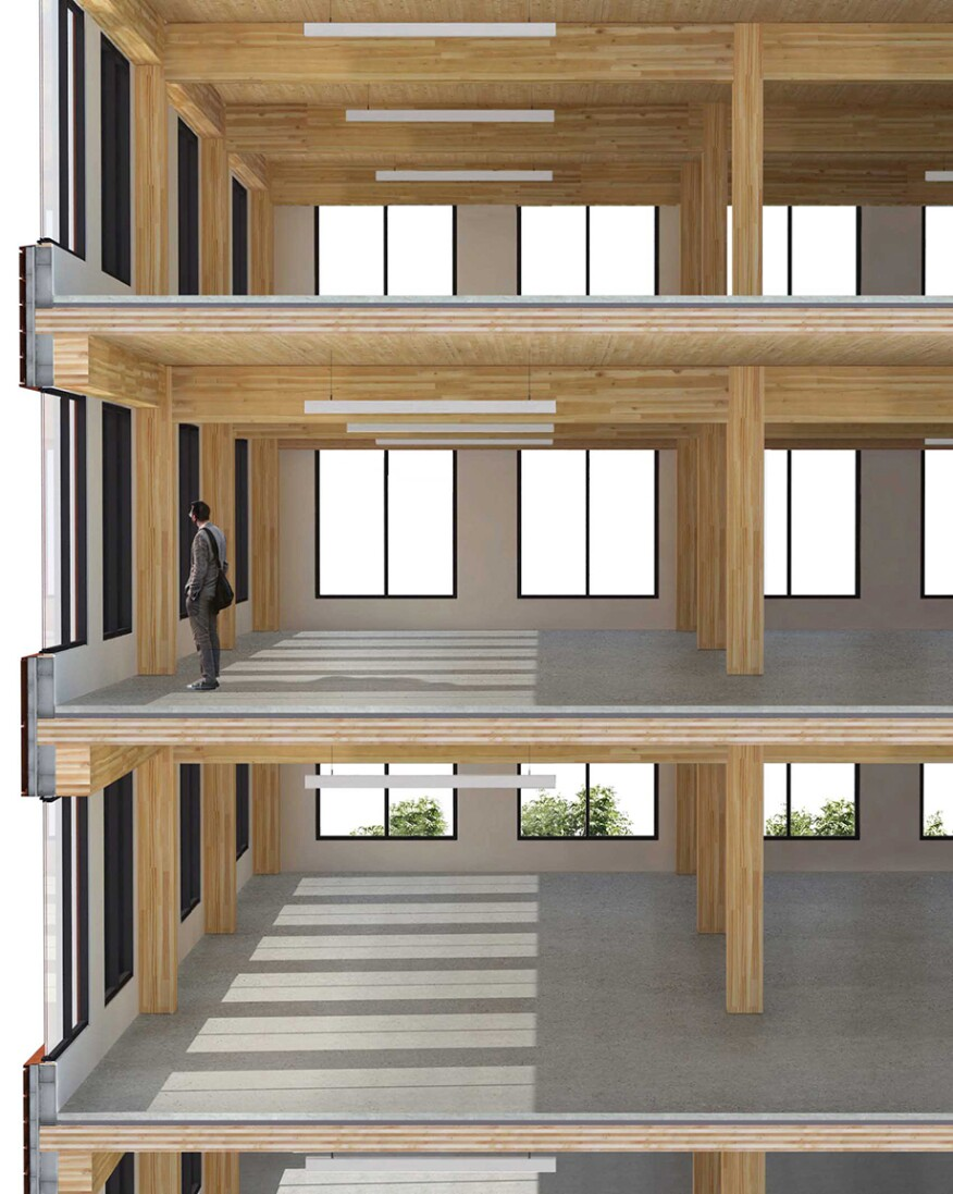 Technology Management Image: T3: The First Modern Tall Wood Building In The U.S