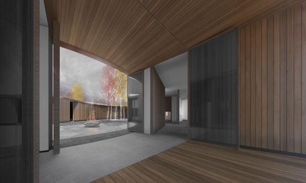 Indoor / outdoor room.
