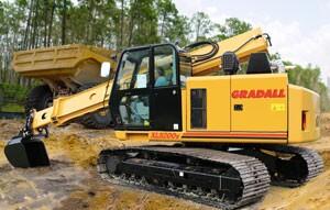 The Gradall XL 5200 V crawler
