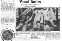 Wood Basics