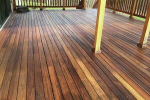 Ipe Decking Finishes