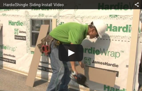 HardieShingle® Siding Introductory Installation Video