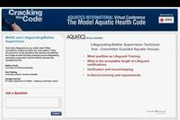 Cracking the Code: Lifeguard/Bather Supervision