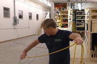 The Best Method for Coiling Electric Cords