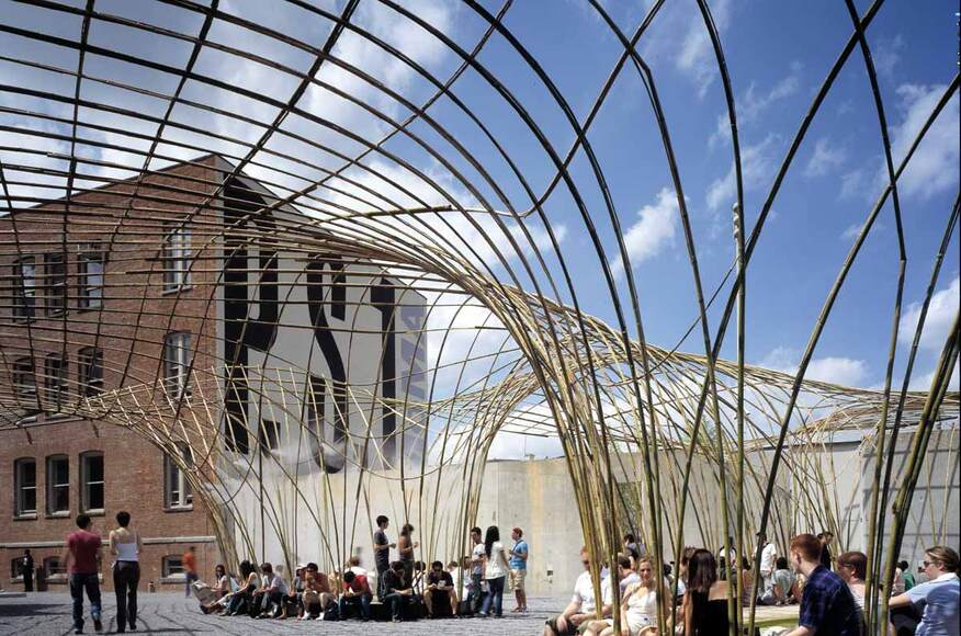 Canopy at moma ps1 architect magazine narchitects new for Architecte corse