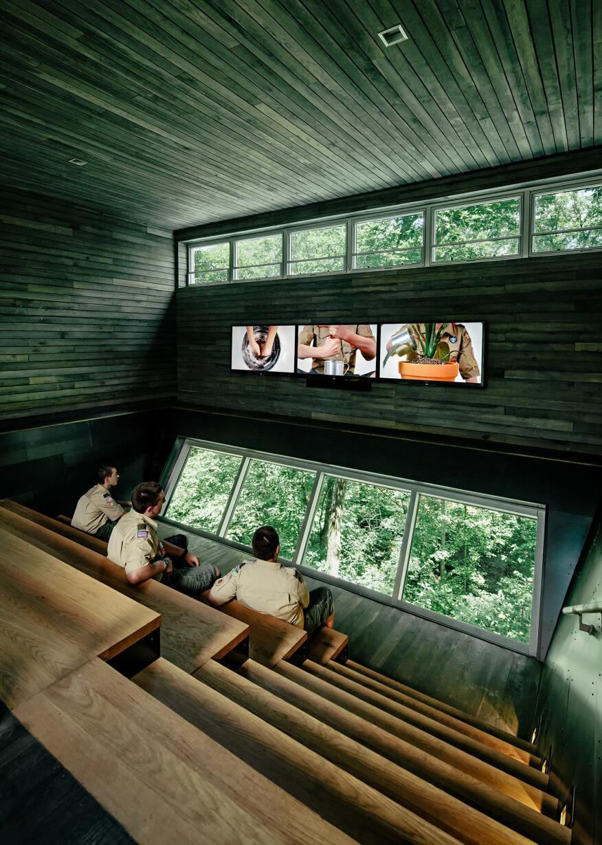 Sustainability Treehouse.