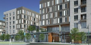 PSH 1 will consist of a six-story complex with 262 apartments and 19,000 square feet of groundfloor retail space in West Baltimore.
