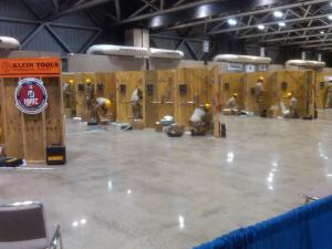 Training For The Future. Contestants ply their construction expertise at SkillsUSA's national championship in Kansas City, which last week drew more than 15,000 attendees.