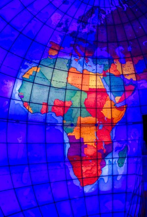New lighting controls and improved LED technology together allow the Mapparium's docents to improve the way in which they call out countries and regions during tours.