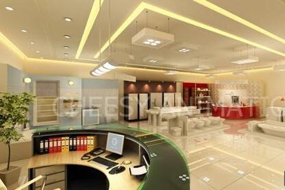 3D Commecial Interior Design