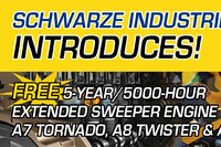 Schwarze Industries Free Extended Sweeper Engine Warranty
