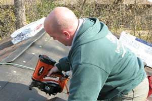 Tools Up Close: Paslode Fuel-Powered Roofing Nailer
