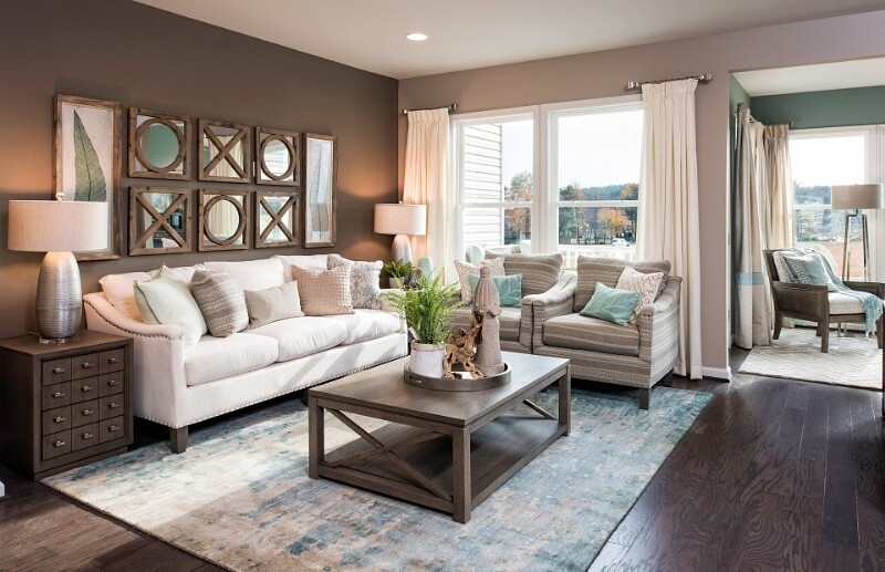 Pulte partners with rachael ray for new model home styles at shipley homestead and del webb for Interior design model homes pictures