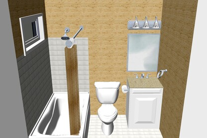 Bathroom Remodeling and Renovations by BHM Builders and Construction Company