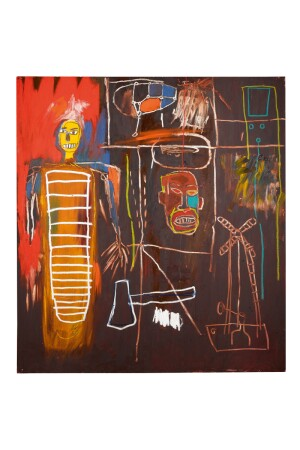 """Air Power,"" by Jean-Michel Basquiat (1984)"