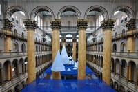 Sneak Peek: James Corner Field Operations' Summer Installation at the National Building Museum