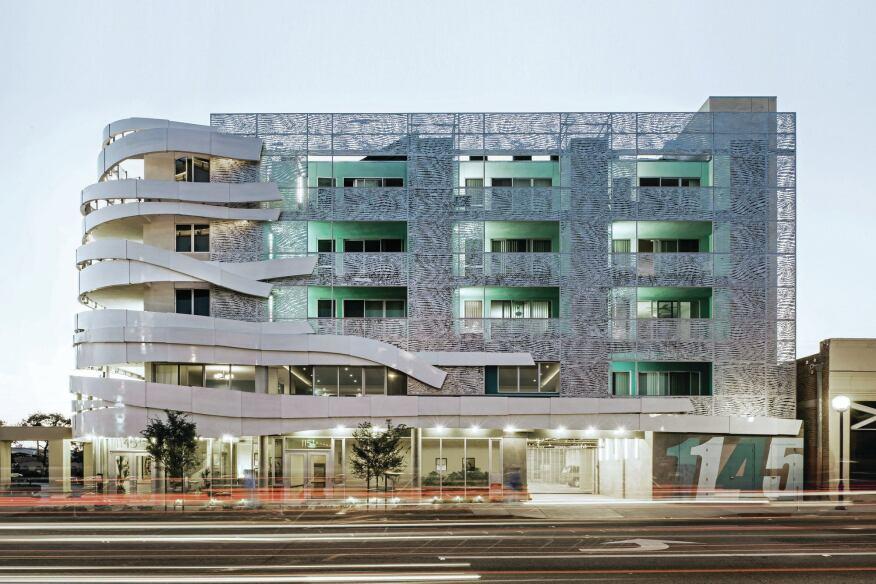 La Brea Housing Designed By Patrick Tighe Architecture