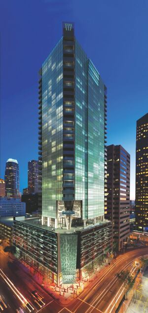Riverstone's WaterMarke Tower in Los Angeles