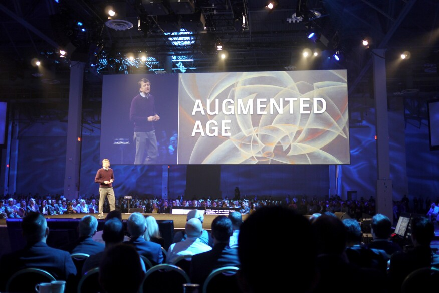 The multisensory keynote demonstrated Autodesk's progressive leadership in the industry and set the scene for the four-day event, which recorded more than 9,000 attendees from around the world.
