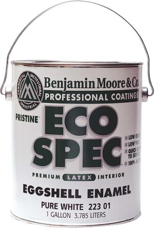 "benjamin moore  The Moore brothers started their paint company in a small Brooklyn, N.Y., building in 1883. Over the years, they developed washable flat finishes, lead-free paint, and latex-based products. Today, the company's Eco Spec line of low-VOC paints is tops among architects doing residential or commercial work.  ""chemistry at its best—with emphasis on performance, availability, dependability, quick occupancy, and healthy environments.""—Michael McDonough, AIA, Michael McDonough Architect, New York City"