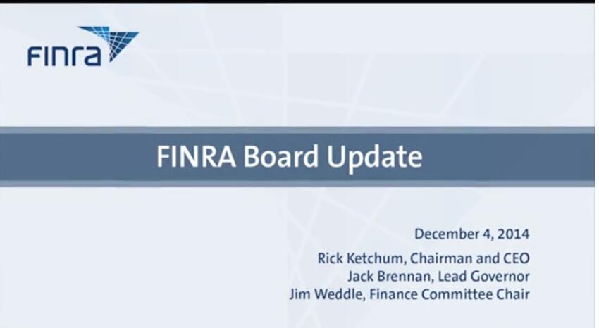 FINRA Sets a 'Measured' Approach to Mortgage-Bond Transparency