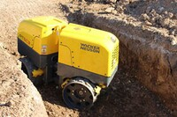 Wacker Neuson Adds Compaction Detection System To Trench Roller