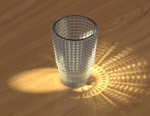 Caustic reflections in Renderworks