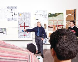 Anton HarfmannWho: Associate Professor, School of Architecture and Interior Design; Associate Dean for Academic Technology and Facilities  Where: College of Design, Architecture, Art, and Planning, University of Cincinnati  Career mission: Joining the precision of digital technology to the messy physical reality of the construction site in a happy symbiosis