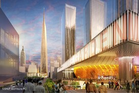 SHoP Proposal for Penn Station and Madison Square Garden