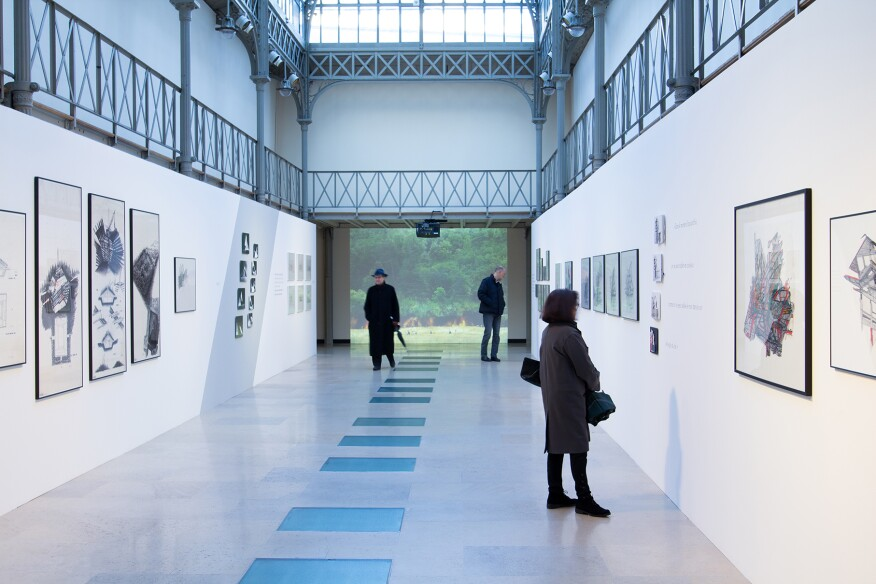 An image of the exhibition