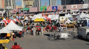 The weather was ideal to spend time at World of Concrete's outdoor exhibits.