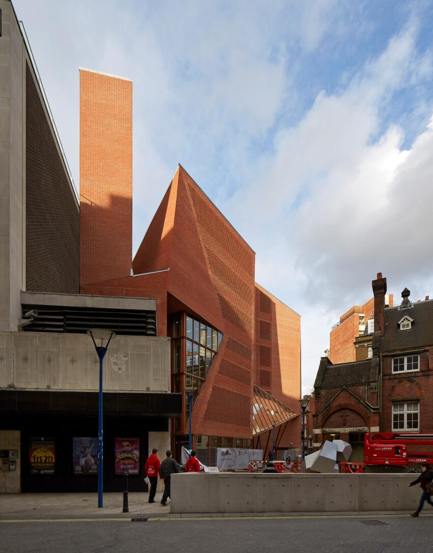 London School of Economics – Saw Swee Hock Student Centre by O'Donnell + Tuomey Architects.
