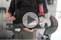 The Largest Cordless Grinder in the World