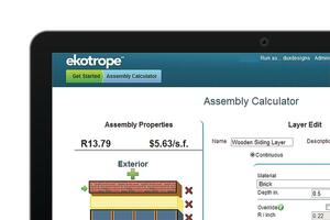 Aggregating Options: Ekotrope's HomeSeed Energy Modeling Software