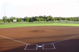 Texas' Mesquite Parks and Recreation Department maintains 24 baseball/ softball game fields, 24 soccer fields, 7 football fields, 35 baseball/softball practice fields, and 12 soccer practice fields. The approximate annual maintenance cost for these fields — including personnel, equipment, and supplies — is $451,369. Photo: Mesquite Parks and Recreation Department