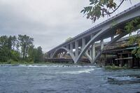 Customized Concrete Mixes Fortify I-5 Willamette River Bridge