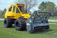 Brush cutter tractor