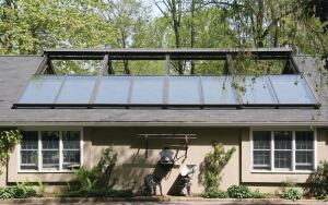 Solar Innovations.  Retractable Skylights are mounted on tracks that allow them to slide completely out of the way, providing unobstructed roof openings and ventilation for living areas, indoor pools, sports courts, or any room designed to take advantage of this feature. Single units up to 6 feet by 8 feet are available, or multiple units may be ganged like skylights. Motorized or manual styles are available. Units are manufactured to meet custom requirements, and project-specific testing is available. 800.618.0669. www.solarinnovations.com.
