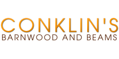 Conklin's Authentic Antique Barnwood and Hand Hewn Beams Logo