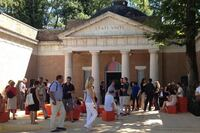 The U.S. Pavilion Receives Its First Visitors at the Venice Biennale