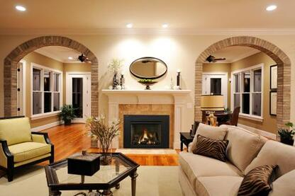 IronStrike Madison Park 32 and 34 Gas Fireplace Inserts