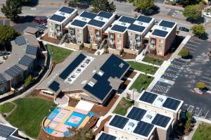 Major Effort: The 25-acre Crescent Park in Richmond, Calif., is the largest solar-powered affordable community in the country. EAH Housing used local incentives to power the 24 buildings with a 908 kilowatts system that produces nearly a megawatt of clean, renewable energy.