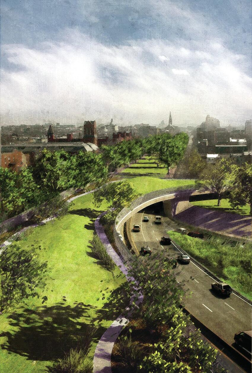 BQGreen, proposed for the Brooklyn Queens Expressway.