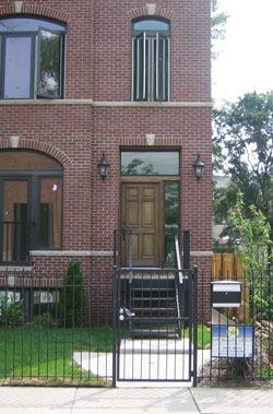 This Southside Chicago brick home, renovated by Om Development, exceeds Energy Star requirements by 80 percent. It generates a tenth of the heating and cooling costs of comparable-sized homes in the city, largely due to the building's highly efficient envelope.