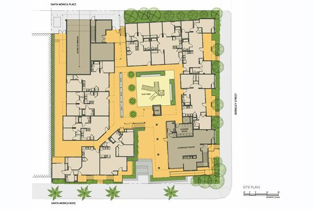 Berkeley Place Family Housing: Merit Award