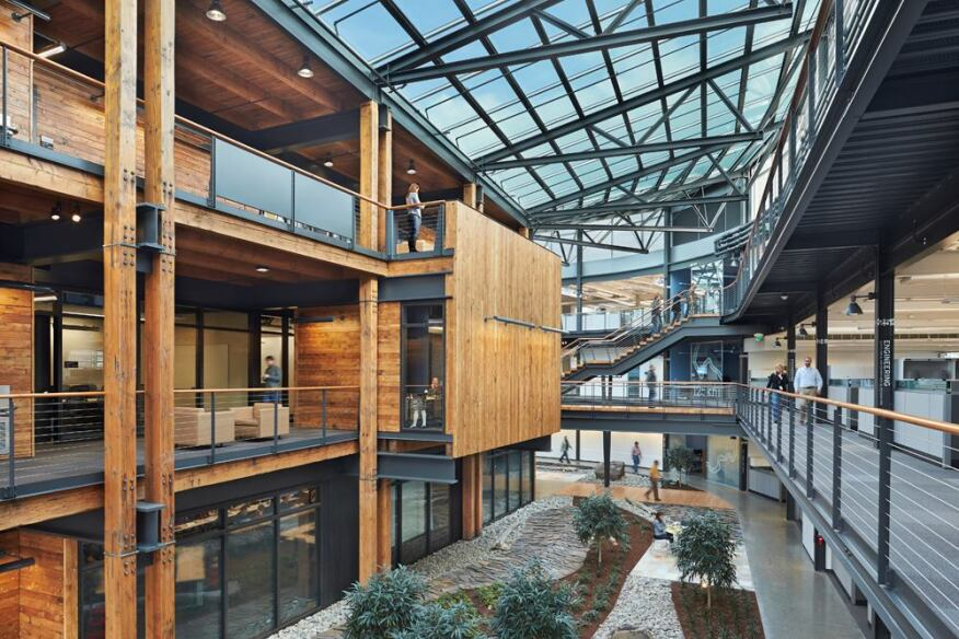 Federal Center South Building 1202 in Seattle by ZGF Architects