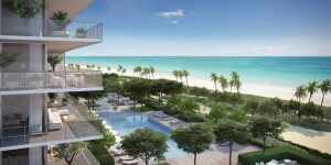 A rendering of the Oceana Bal Harbour condo project, which has already made $50 million in Mexican investments.